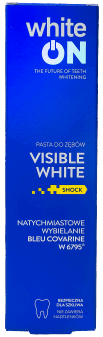 whiteON,  pasta do zębów, visible white, 75  ml, nr kat. 282035