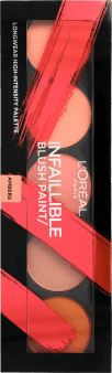 L'Oréal Paris, Infallible Blush Paint, paletka róży do policzków, 10 g, nr kat. 282930