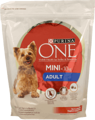 Purina One, Adult, karma sucha dla psa, Mini, waga psa<10kg, 800 g, nr kat. 282213