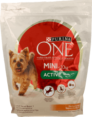 Purina One, Active. karma sucha dla psa, Mini, waga psa<10kg, 800 g, nr kat. 282217