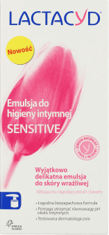 Lactacyd, Sensitive, emulsja do higieny intymnej, 200 ml, nr kat. 197922