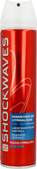 Shockwaves, Ultra Strong Power Hold, lakier do włosów, Maksymalna Kontrola, 250 ml, nr kat. 24858