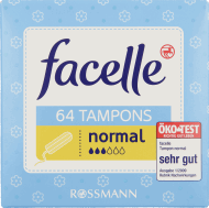 Facelle,  tampony, Normal, 64 szt., nr kat. 123508