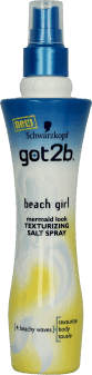 got2b, Beach Girl, spray  do włosów, 200 ml, nr kat. 172871