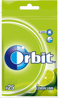 Orbit, Lemon Lime, guma do żucia w drażetkach, 25 szt., nr kat. 202671