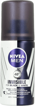 NIVEA MEN, Invisible Power, mini dezodorant dla mężczyzn, 35 ml, nr kat. 195351