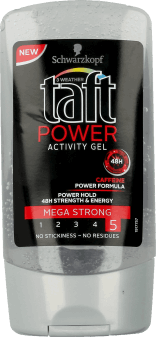 Taft, Power, żel do włosów, 150 ml, nr kat. 23801
