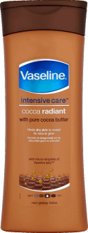 Vaseline, Intensive Care™ balsam do ciała, Cocoa Radiant, 400 ml, nr kat. 203454