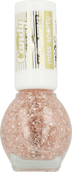 Miss Sporty, Candy Shine, lakier do paznokci, Glitter Effect, nr 002, 7 ml, nr kat. 218644