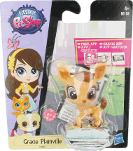 Hasbro, Littlest Pet Shop, Gracie Plainville, 4+, 1 szt., nr kat. 132802