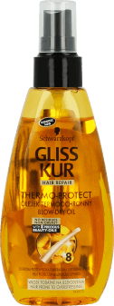 Gliss Kur, Thermo-Protect, termoochronny olejek do włosów, 150 ml, nr kat. 212799