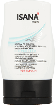 Isana Men, Sensitive, balsam po goleniu, 100 ml, nr kat. 153329