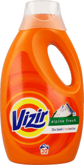 Vizir, Alpine Fresh, płyn do prania, 1.3 l, 20, nr kat. 223494