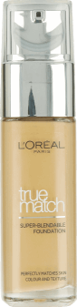 L'Oréal Paris, True Match, podkład, 3W Golden beige, 30 ml, nr kat. 227909
