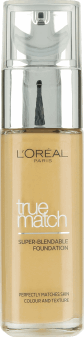 L'Oréal Paris, True Match, podkład, 4W golden natural, 30 ml, nr kat. 227913