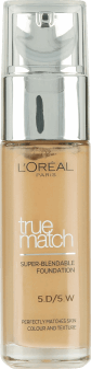L'Oréal Paris, True Match, podkład, 5W golden sand, 30 ml, nr kat. 227919