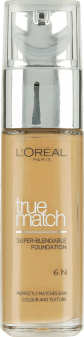 L'Oréal Paris, True Match, podkład, 6N honey, 30 ml, nr kat. 227920