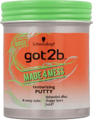got2b, made4mess, pasta do włosów, 100ml, nr kat. 234041