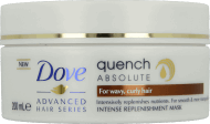 Dove, Advanced Hair Series, Quench Absolute, maska do włosów falowanych i kręconych, 200 ml, nr kat. 234974