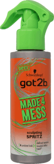 got2b, made4mess, spray modelujący do włosów, 150 ml, nr kat. 234040