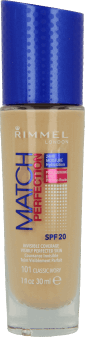 Rimmel, Match Perfection, podkład, nr 101, 30 ml, nr kat. 233843