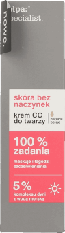 tołpa, specialist, krem CC do twarzy, natural beige, 40 ml, nr kat. 240863