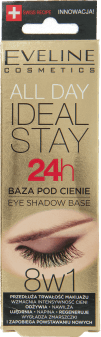 Eveline, All Day Ideal Stay, baza pod cienie, 8w1, 12 ml, nr kat. 247042