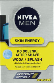 NIVEA MEN, Skin Energy, woda po goleniu, 100 ml, nr kat. 164269