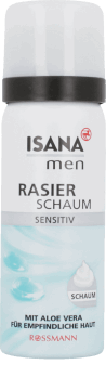 Isana Men,  pianka do golenia, Sensitive, 50 ml, nr kat. 152282
