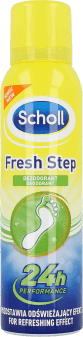 Scholl, Fresh Step, dezodorant do stóp, 150 ml, nr kat. 26460