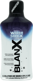 BlanX, White Shock, płyn do higieny jamy ustnej, 500 ml, nr kat. 244875