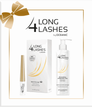 Long 4 Lashes by Oceanic,  serum do rzęs 3ml + płyn do demakijażu oczu 250ml, 1 szt., nr kat. 210886