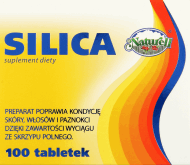 Silica,  suplement diety, 100 szt., nr kat. 143557