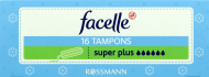 Facelle, Super Plus, tampony,  16 szt., nr kat. 123512