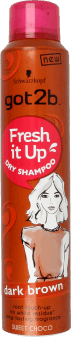 got2b, Fresh it up!, suchy szampon, Brown, 200ml, nr kat. 256376