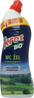 Kret, Bio, żel  do WC, 750 ml, nr kat. 131306