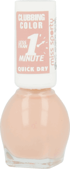 Miss Sporty, Clubbing Color Quick Dry, lakier do paznokci, nr 043, 7 ml, nr kat. 257824