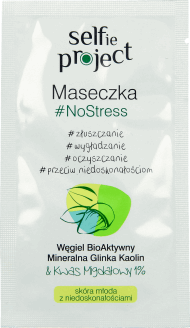 Selfie Project,  maseczka, No stress, 10 g, nr kat. 254354