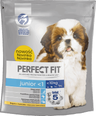 Perfect Fit, Junior <1, karma sucha dla psa <10 kg, 825 g, nr kat. 257860