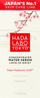 Hada Labo Tokyo, Concentrated Water Serum, wodne serum Lock-in-Moist na dzień i na noc, 30 ml, nr kat. 260799