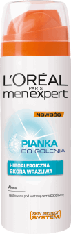 L'Oréal Men Expert, Hydra Sensitive, pianka  do golenia, 200 ml, nr kat. 106503