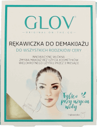 GLOV, Hydro Demaquillage, rękawiczka do demakijażu, on-the-go, 1 szt., nr kat. 240837