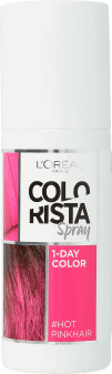L'Oréal Paris, Colorista, 1-dniowy kolor w sprayu, Hot Pink Hair, 75 ml, nr kat. 256426