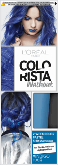 L'Oréal Paris, Colorista, washout 2-tygodniowy kolor pastel, Indigo Hair, 80 ml, nr kat. 269194