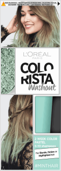 L'Oréal Paris, Colorista, washout 2-tygodniowy kolor pastel, Mint Hair, 80 ml, nr kat. 269190