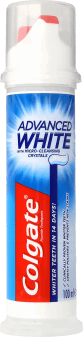 Colgate, Advanced White, pasta do zębów z mikrokryształkami, 100 ml, nr kat. 256917