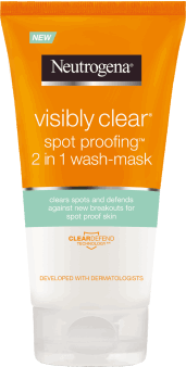 Neutrogena, Visibly Clear Spot Proofing, żel i maska do twarzy, 2 w 1, 200 ml, nr kat. 267504