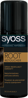 SYOSS, Root Retoucher, spray maskujący odrosty, czerń, 120 ml, nr kat. 266956