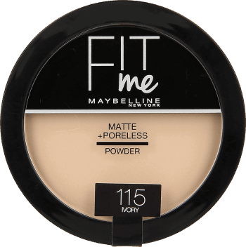 Maybelline, FIT me, puder do twarzy, nr 115, 14 g, nr kat. 274394
