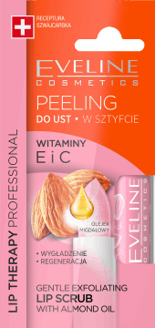Eveline, Lip Therapy Professional, peeling do ust  w sztyfcie,  4 g, nr kat. 276305